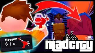 How To Get The *RAYGUN* & Mad City CODES | Mad City Roblox