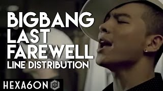 BIGBANG - Last Farewell Line Distribution (10 Year Anniversary Project) PART 04/10