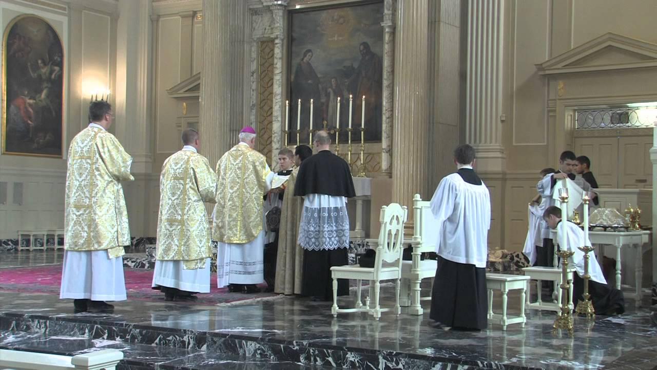 Friday April 25, 2014 Pontifical High Mass (Extraordinary Form ...