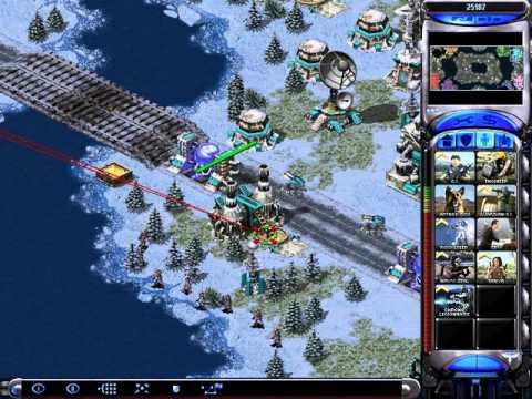 Korea vs 7 brutal countries in Arctic circle Red Alert 2 Yuri's Revenge