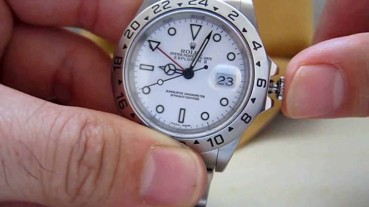 Rolex Explorer Review 16570