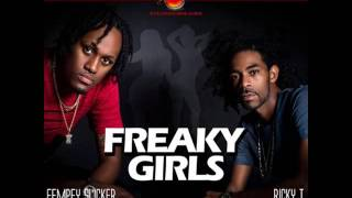 Ricky T Ft. Eempey Slicker - Freaky Girls [2017 Soca]