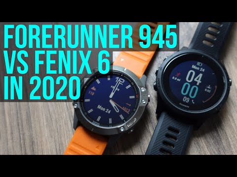 Garmin Fenix 6 vs Forerunner 945 in 2020 - They're Not So Different Anymore!