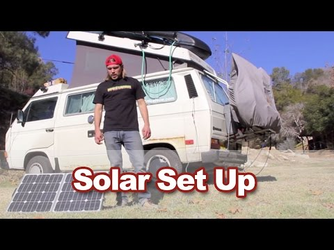 Van Life Tips - Solar and Battery Set Up