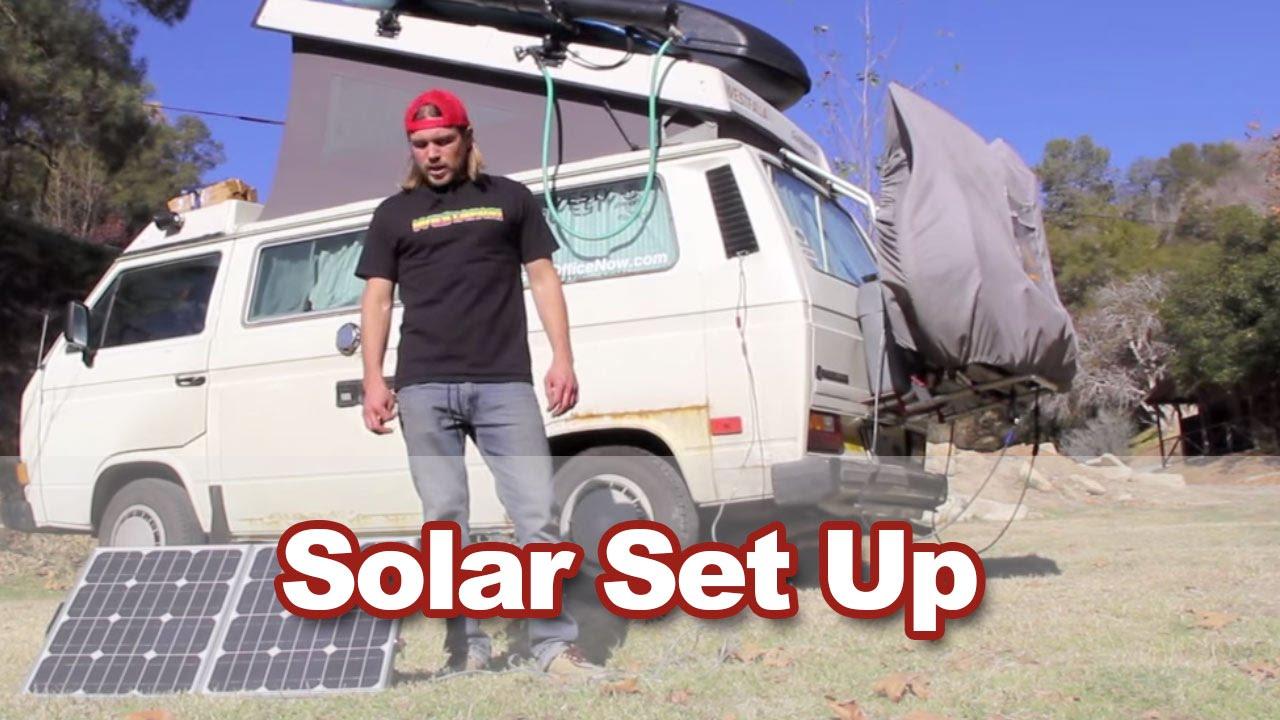 Solar Panel Installation Vanagon Westfalia Wiring Kit Instructions Images