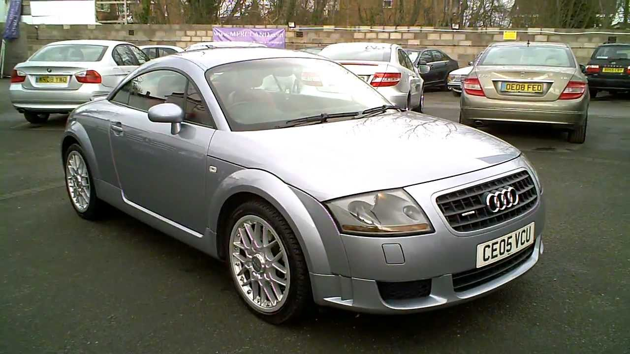 2005 audi tt quattro 3 2 coupe avus silver automatic dsg. Black Bedroom Furniture Sets. Home Design Ideas