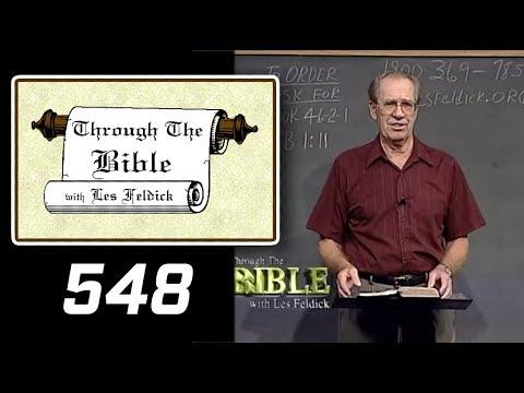 [ 548 ] Les Feldick [ Book 46 - Lesson 2 - Part 4 ] Hebrews 1:10-2:4 |b