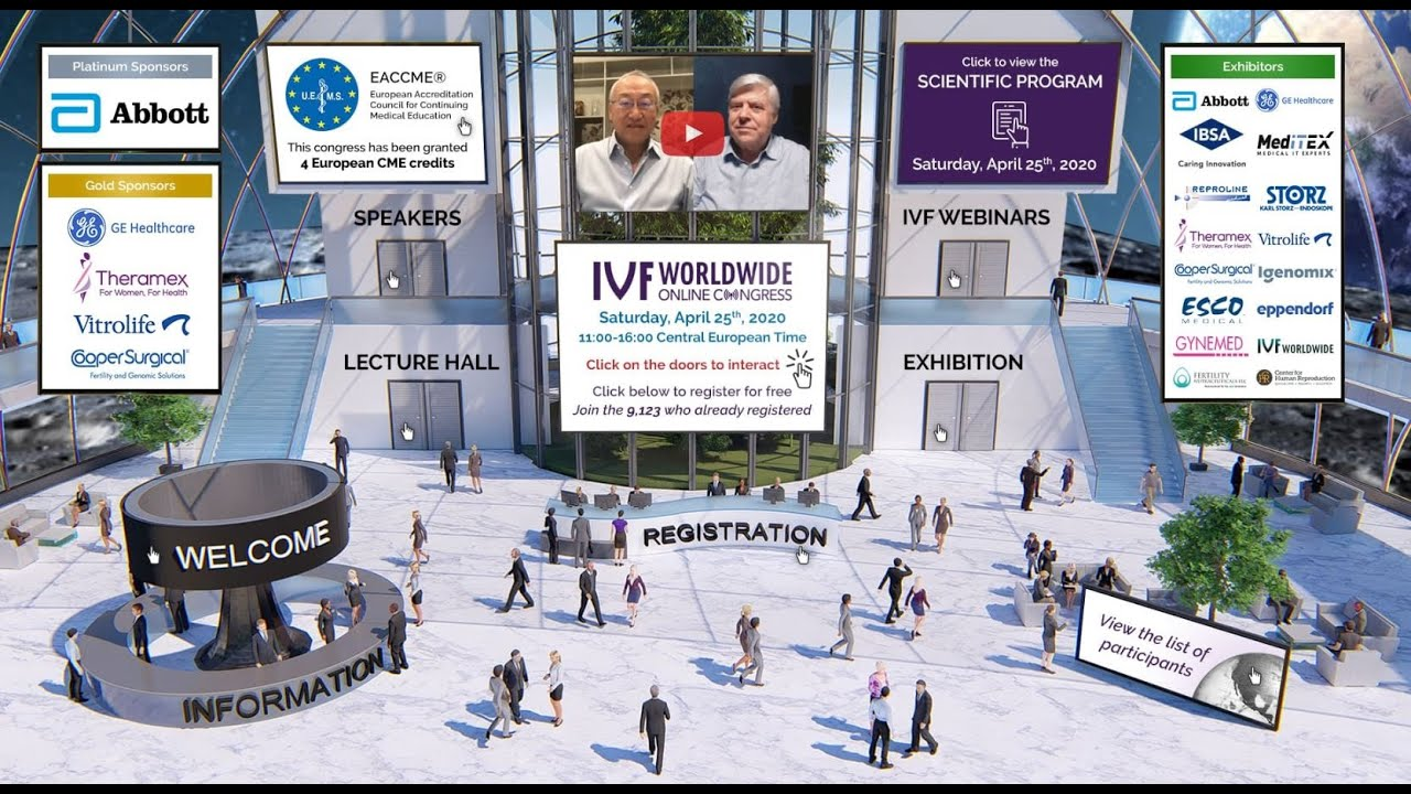 IVF Worldwide Online Congress: Session 2 recording - YouTube