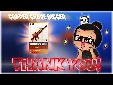 FORTNITE StW : THANK YOU! & Buying GRAVE DIGGER  1st Look  PvE