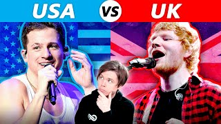 UK vs USA  Whose Songs are BETTER?