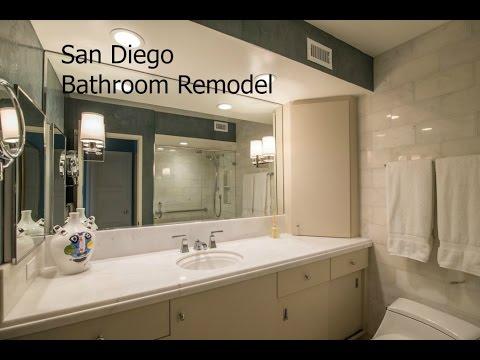 San Diego Bathroom Remodel