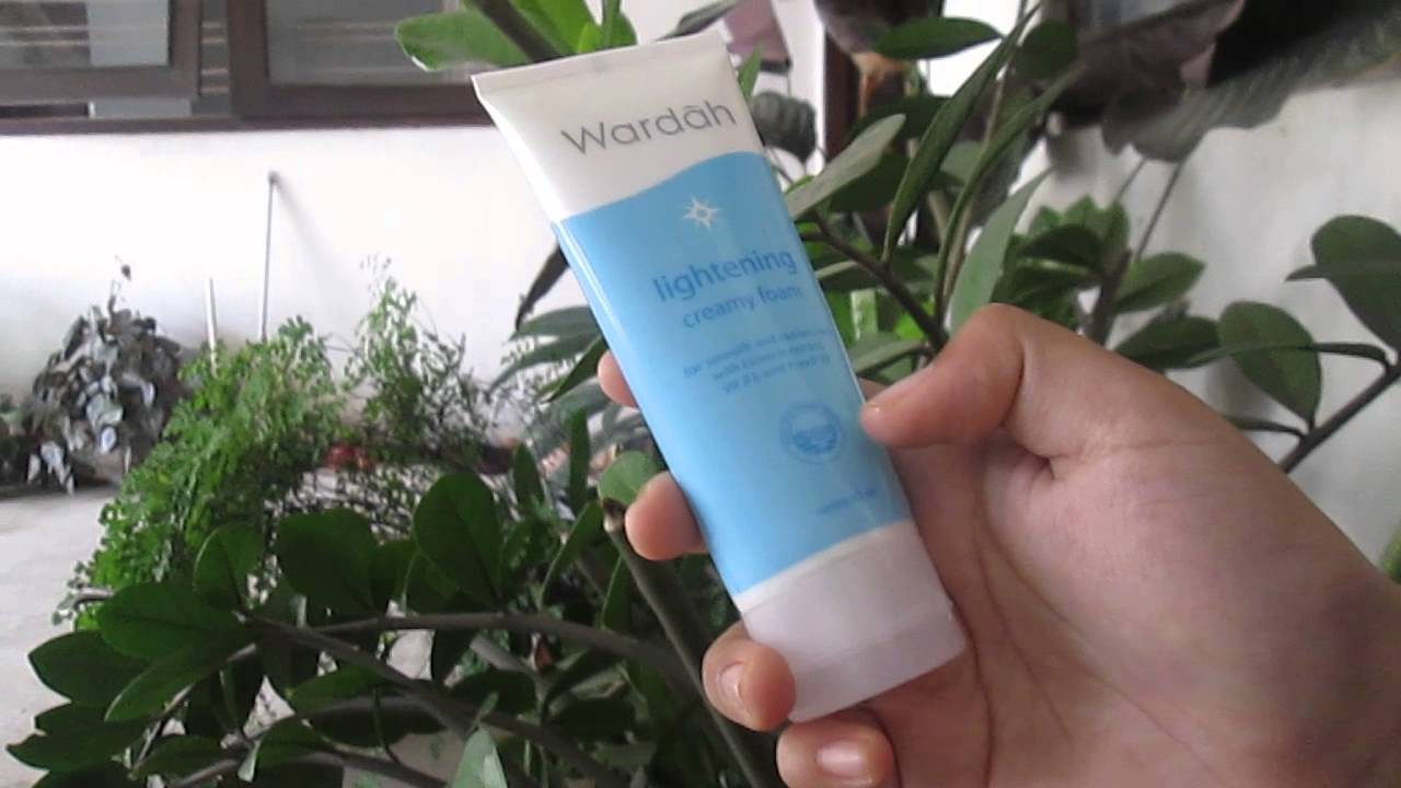 Review Wardah Lightening Creamy Foam Youtube Face Toner