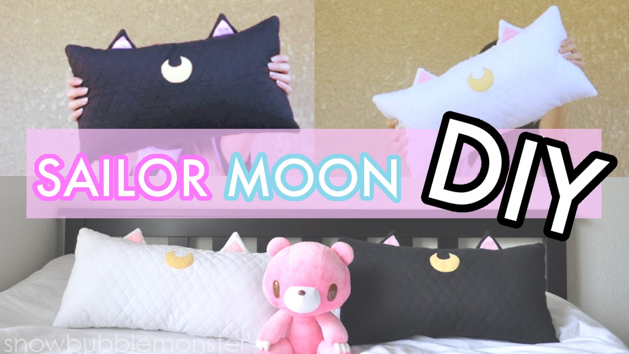 Diyluna And Artemiscat Pillow Cushionsailor Moon