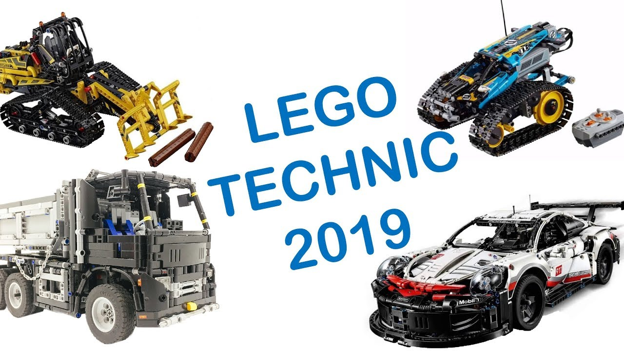 New Lego Technic Sets 2019 NEW SETS) LEGO Technic sets 2019   YouTube
