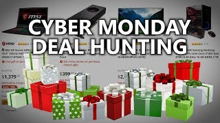 LIVE Cyber Monday Deal Hunt! - Science Studio After Hours #31