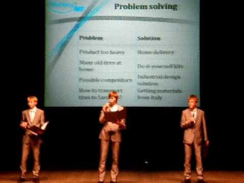 Student company Rolling Art (Estonia) presentation - CotY '10