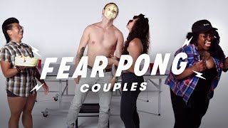 Couples Play Fear Pong (Mattie & Nanta vs. Hannah & Alex) | Fear Pong | Cut