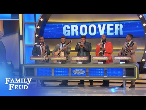 Meet the Groover Boys! | Family Feud