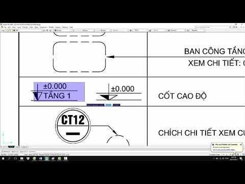 [CAD FULL 44]  Bài 15 - 15.5.1 - Đọc ký hiệu bản vẽ