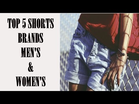 Top 5 Men's & Women's Shorts Brands for Reselling on eBay Poshmark & Mercari