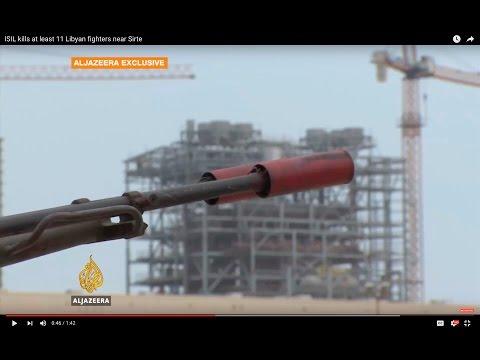 ISIL kills at least 11 Libyan fighters near Sirte