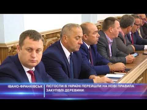 Лісгоспи в Україні перейшли на нові правила закупівлі деревини