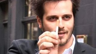 How To Learn David Zanthor's Disappearing Cigarette Trick
