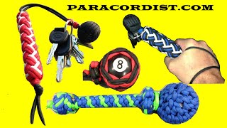Paracordist Impact Weapons, Paracord Monkeys Fists VS. Blackjacks and Saps