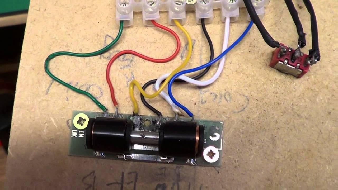Wiring Diagram Seep Point Motors : Seep point motors for n gauge points youtube