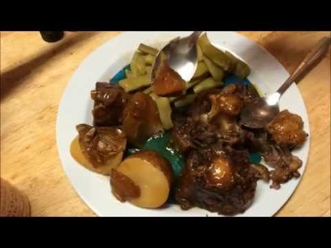 Oxtails Cooked In The Pressure Cooker