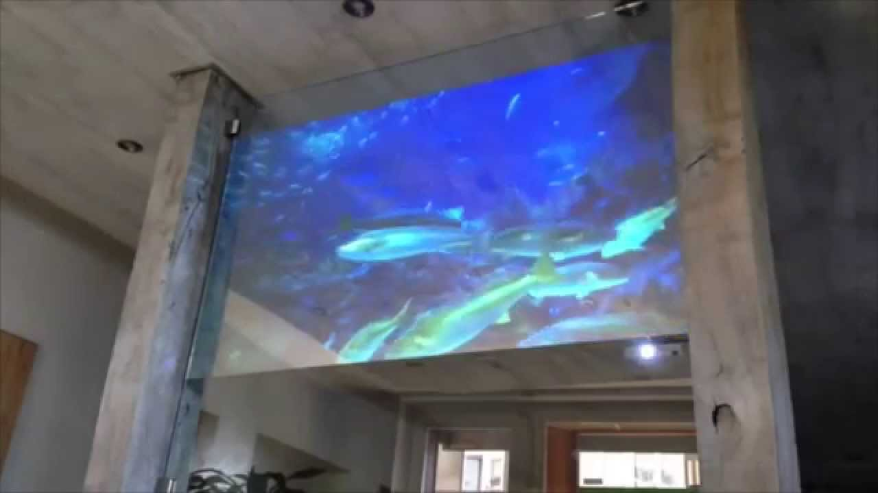2 sided Holographic Fish Tank Display - YouTube