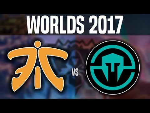FNC vs IMT - Worlds 2017 Group Stage Day 5 - Fnatic vs Immortals | Worlds 2017