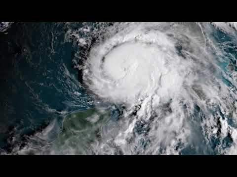 Hurricane Michael Seen From Space