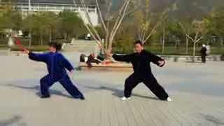 Клуб боевых искусств в г. Тайань, Китай.