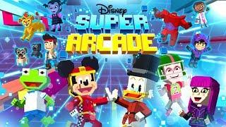 Disney Junior Super Arcade - All Mini Games Mickey Mouse, Vampirina - Disney Junior Cartoon Games