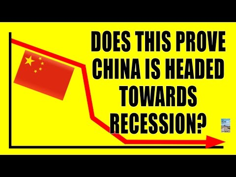 Does This Chart Prove CHINA Near Recession? BIGGEST DROP Since Financial Crisis!