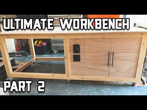 Ultimate Shop Table Build - Part 2