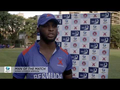 ICC Man Of The Match:  Kamau Leverock, Feb 27 2018