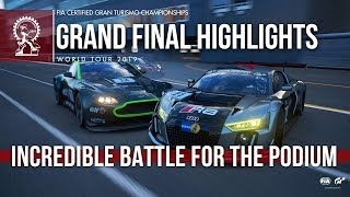 Battle For The Podium - GT Sport Manufacturer Series Final Highlights