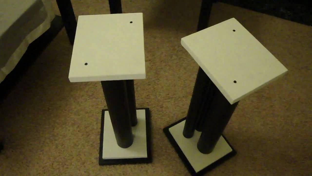 diy speaker stands - for quad 11l (instructions - build photos in