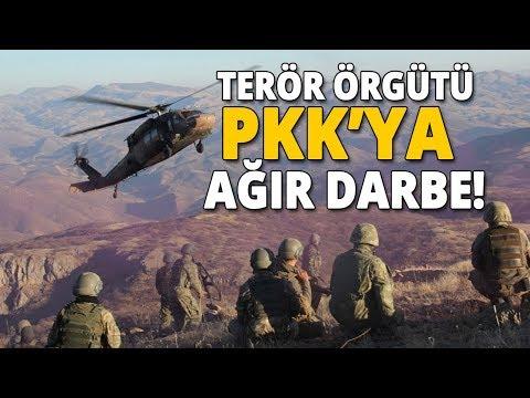 Yurt Genelinde Terör Örgütü PKK'ya  Büyük Darbe Vuruldu