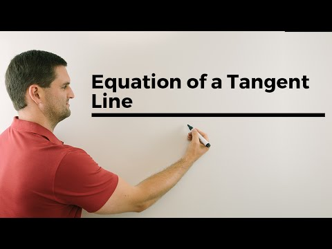 Finding the Equation of a Tangent Line with the Derivative of a Function, online help in math