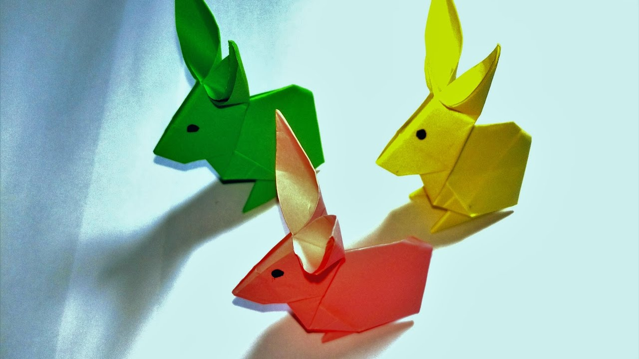 How To Make An Easy Paper Rabbit With Sokoun