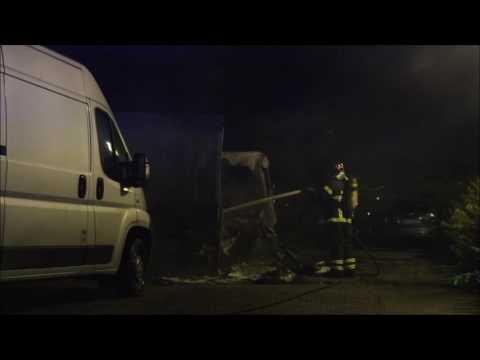 27.08.2016 Ild i flere varevogne, Tårnby
