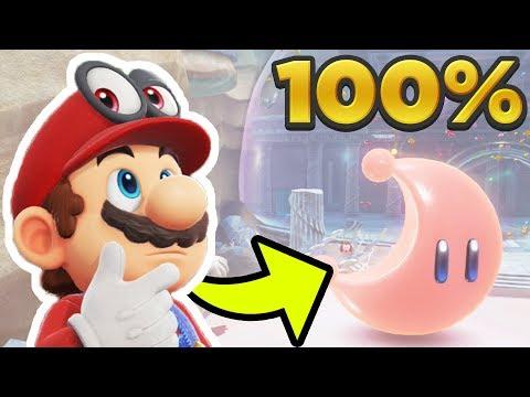 Super Mario Odyssey - Lake Kingdom ALL 42 POWER MOON LOCATIONS! [100% Guide]