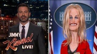 Jimmy Kimmel Talks to New Opioid Czar Kellyanne Conway