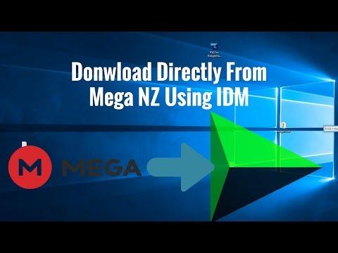How To Download  Mega NZ File Direct Using IDM (Internet Download Manager)Mega Direct Link Generator