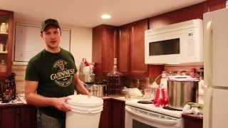 Pale Ale Bottling Part 2 - Transferring Beer