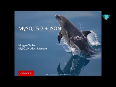PHP UK Conference 2016 - Morgan Tocker - MySQL 5 7 + JSON