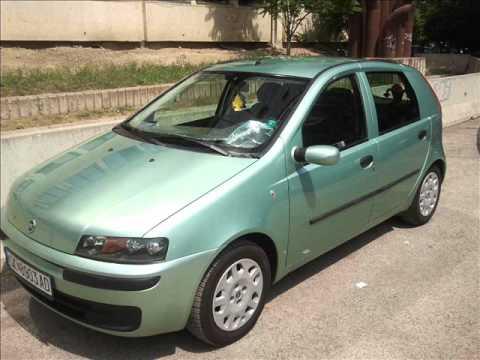 fiat punto 1 2 8v 2000 makedonija youtube. Black Bedroom Furniture Sets. Home Design Ideas